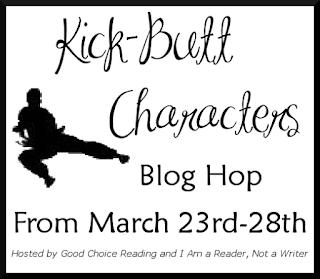 Giveaway: Kick-Butt Characters Blog Hop