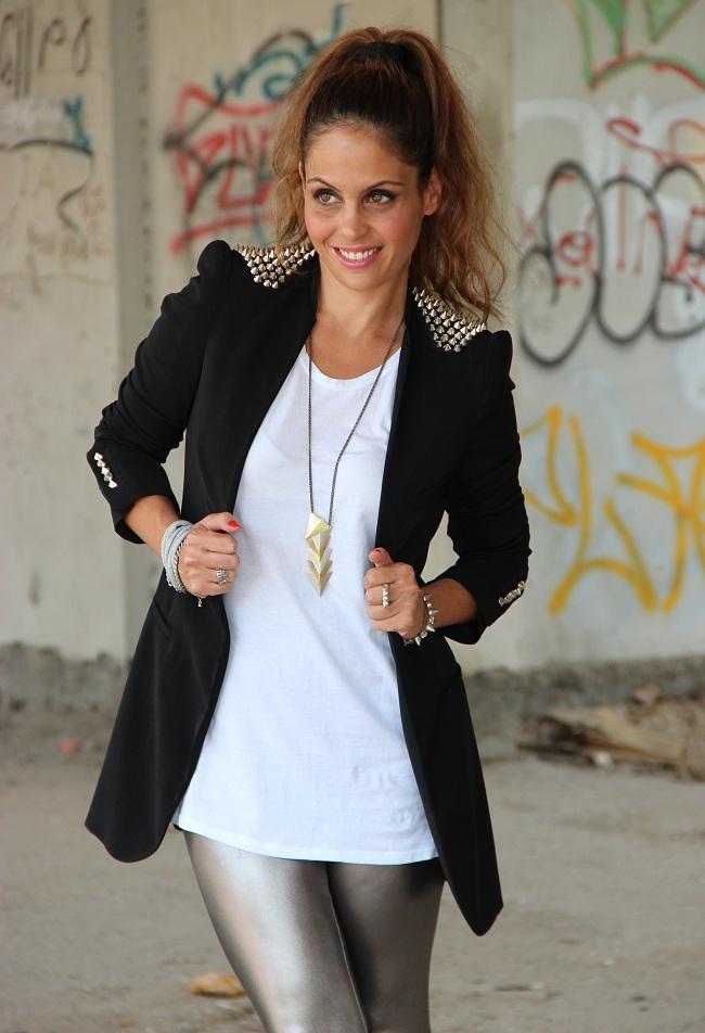 בלוג אופנה Vered'Style ג'קט ניטים ZARA
