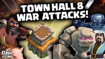 GoWiPe Di Town Hall 8 Clash of Clans