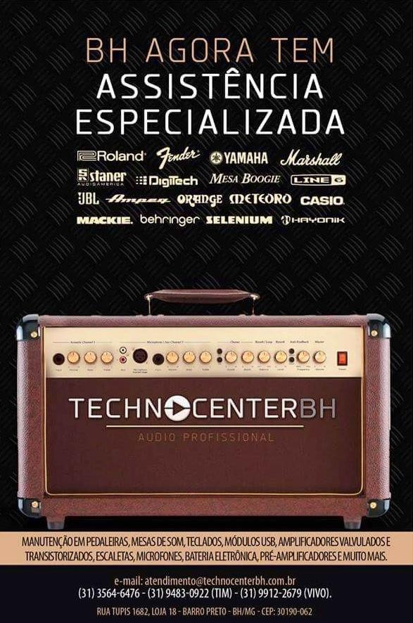 TECHNOCENTERBH - Assistência Técnica em Equipamentos Musicais