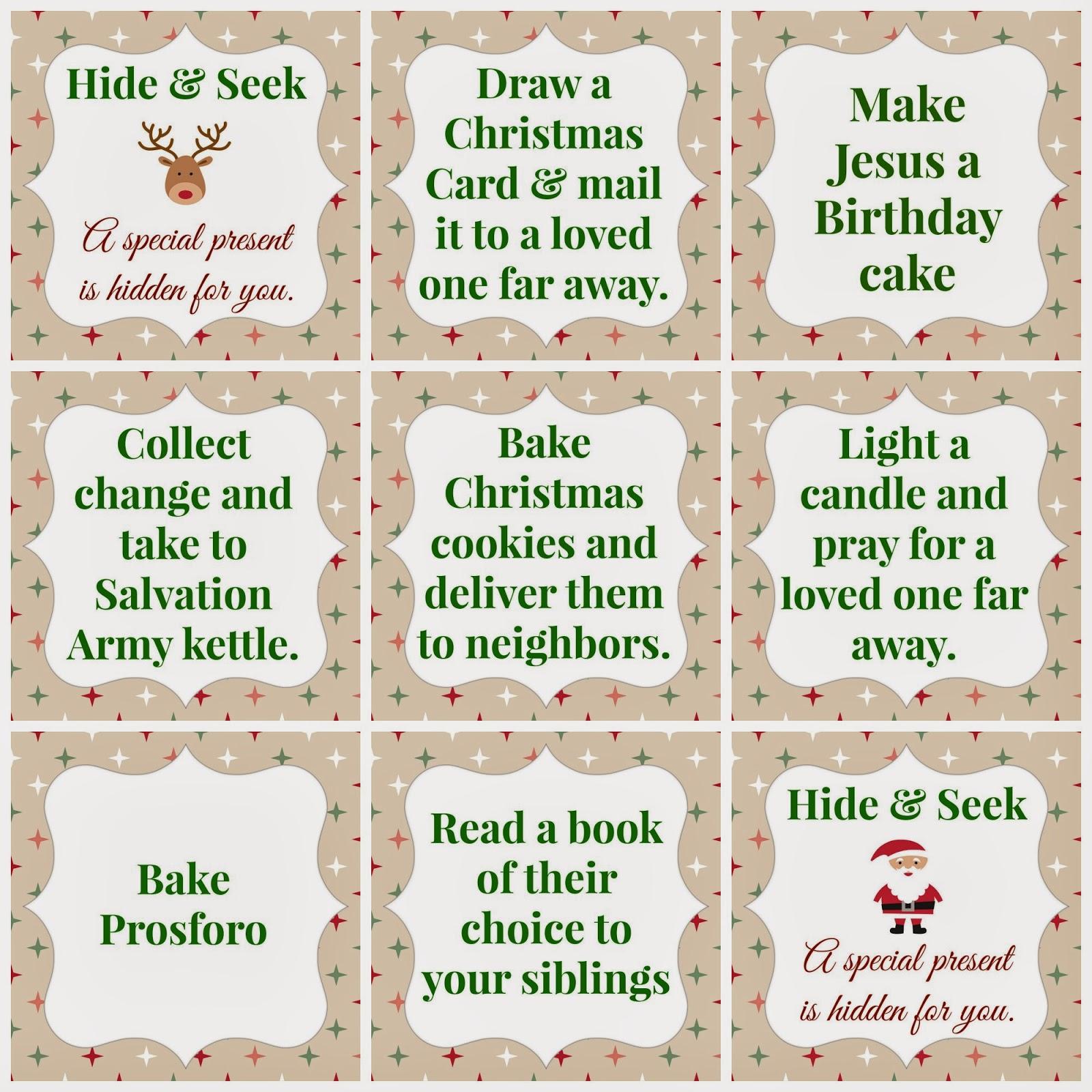 Blank Orthodox Advent Calendar 2016 | Printable Calendar 2016