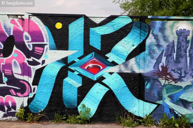 инетресные граффити в москве