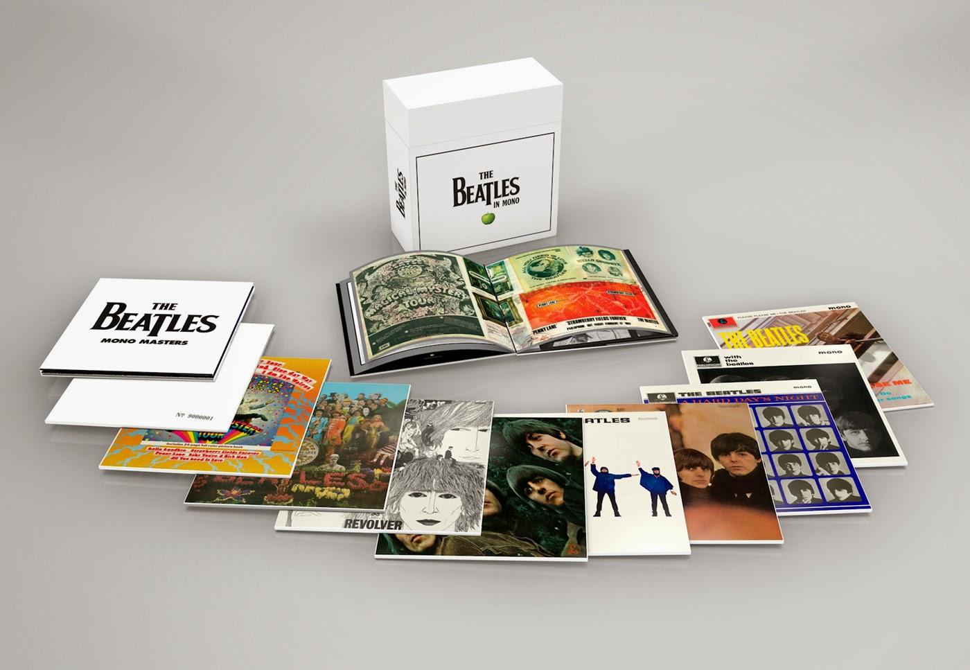 リマスターしなおした「the Beatles In Mono」アナログlp盤2014年9月発売 甲虫楽団ブログ