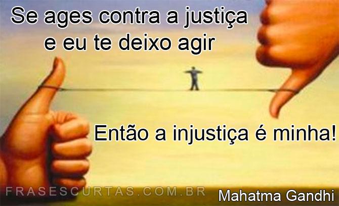 Frases sobre Justiça, Ética e Comportamento - Lição de Moral