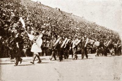 Desfile ganadores JJOO Atenas 1896