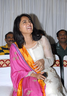Anushka At Damarukam Success Meet (7)