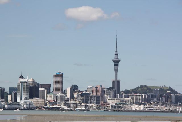Skyline de Auckland, NZ.