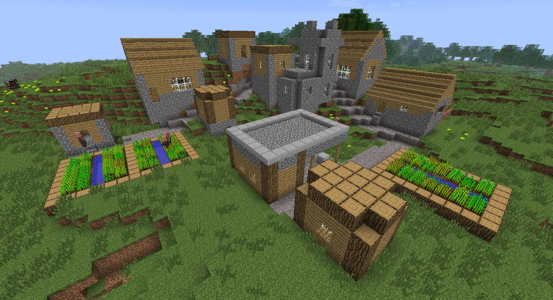 Как сделать в майнкрафте деревню - Minecraft - Zobra