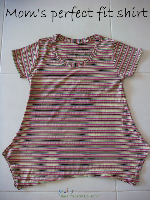 perfect fit shirt pdf pattern for mom