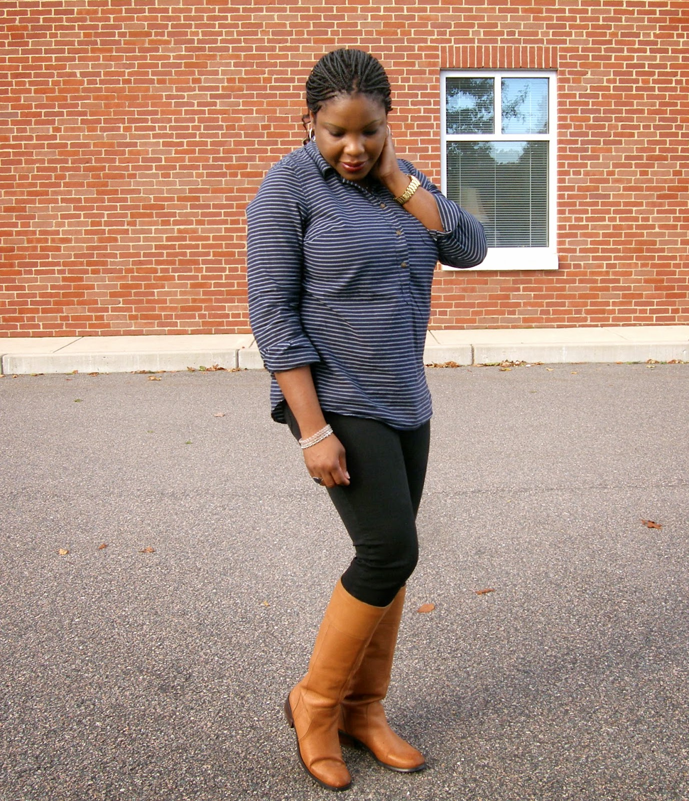 How to wear cognac boots, Coganc and black