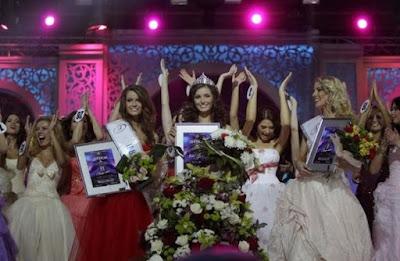 Julia Skalkovich Crowned Miss Belarus 2012