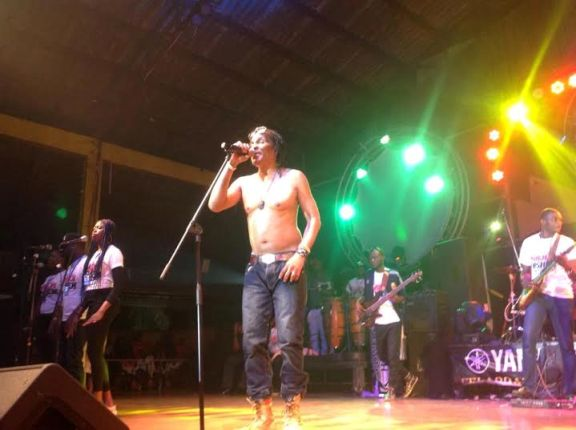 Majek Fashek performs at FELABRATION