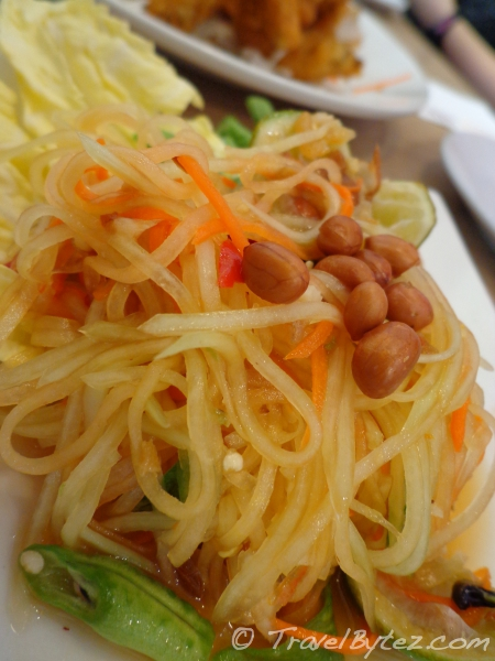 Green Papaya Salad with Shrimp Flakes