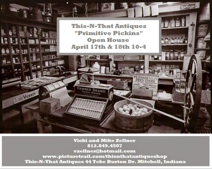 """Primitive Pickins""                                          Open House"