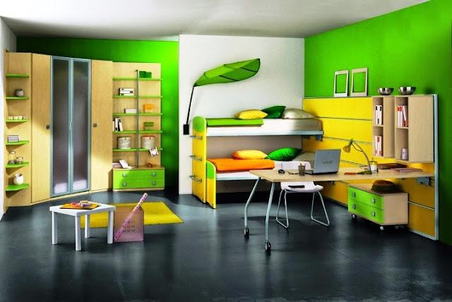 popular green paint colors bedroom