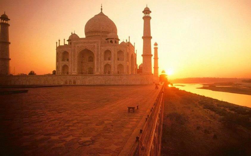 Taj Mahal, Agra (India)