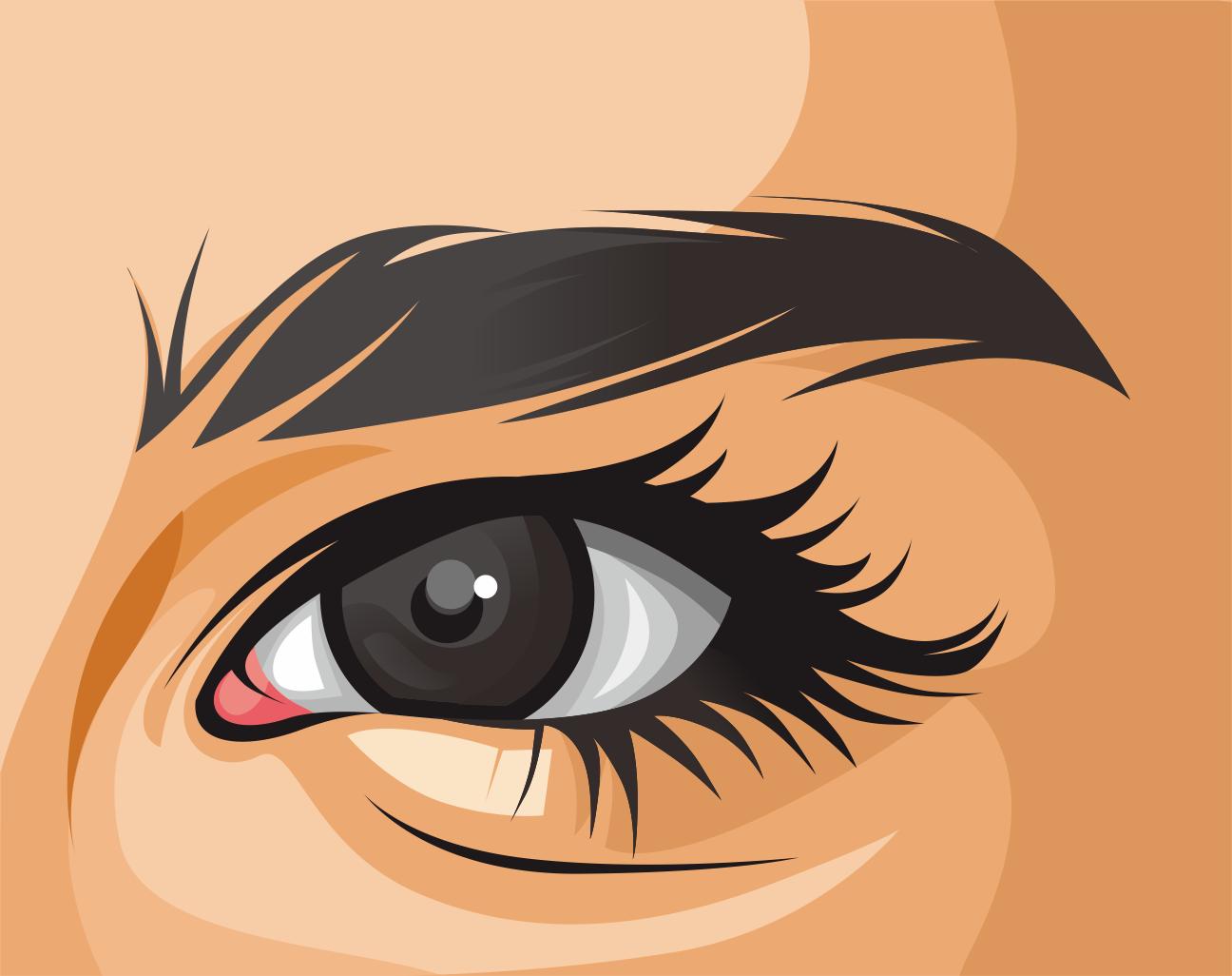 Tutorial Membuat Vector Mata (Eye)