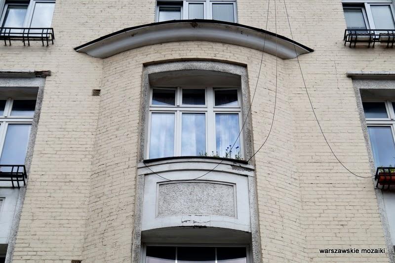 Warszawa Śródmieście ulica willa pałacyk kamienica ambasada Lilpop