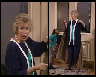Cosby Show Huxtable fashion blog 80s sitcom Mrs. Hickson Eileen Heckart