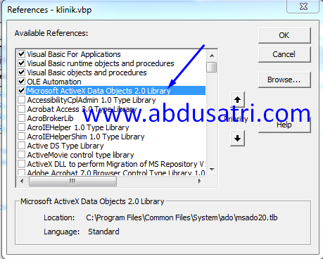 cara buat form login di VB dengan database
