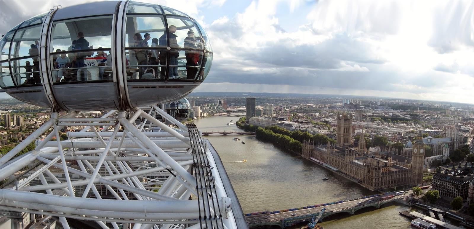 London Eye, las mejores vistas de Londres