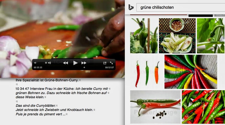 grüne Chilischoten — piment vert