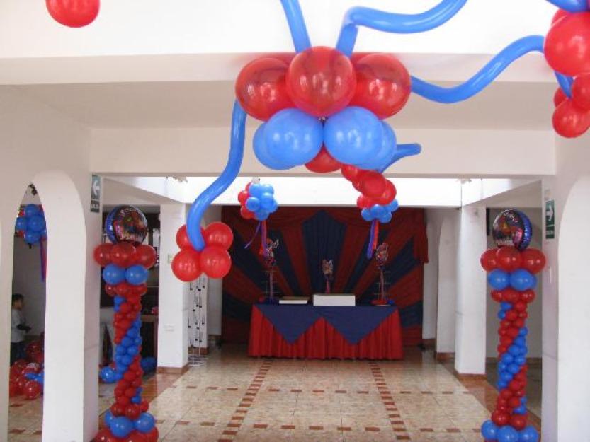 decoracion de techos para fiestas infantiles parte