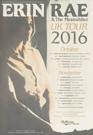'Soon Enough' LP & a UK tour.