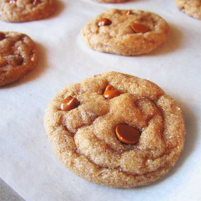 Cinnamon Chip Pumpkin Cookies by Two Food Lovers