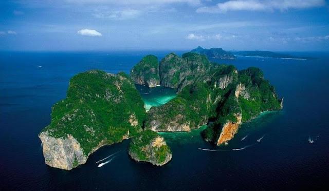 An un-inhabited island near Phuket, Thailand
