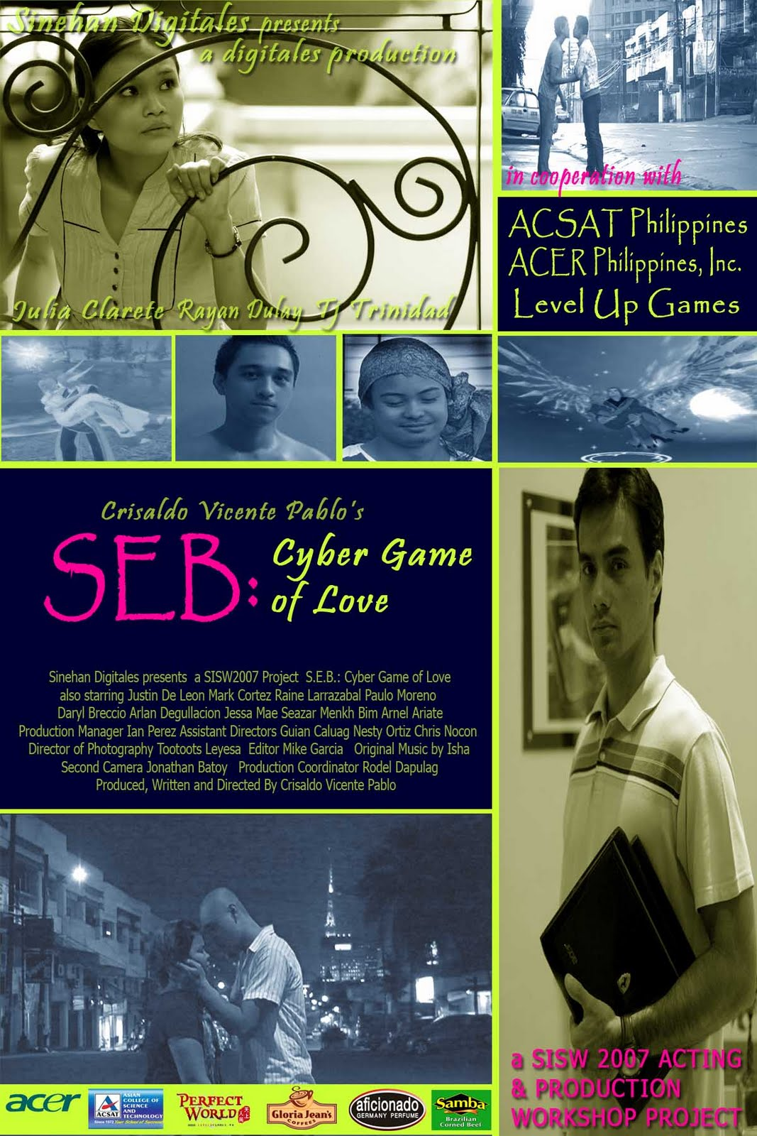 watch S.E.B Cyber Game of Love pinoy movie online streaming best pinoy horror movies