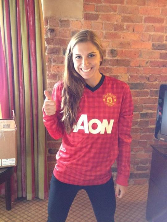 Alex Morgan from the Us national team