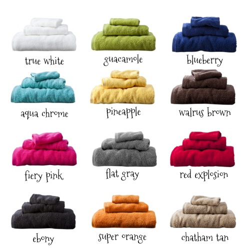 Choose a towel