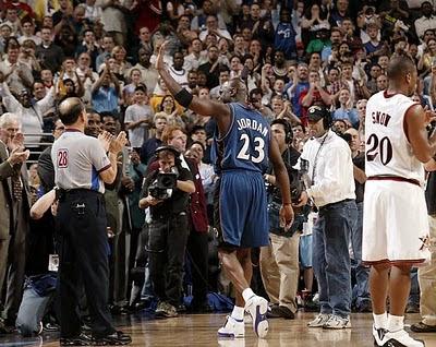Último partido de Jordan en la NBA