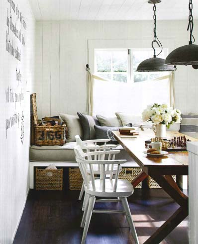 Image via House Beautiful, Light Fixtures designed by Darryl Carter for Urban Electric Co, as seen on linenandlavender.net