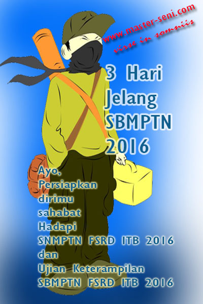 Update Data Siswa/i Online Master Seni 2016