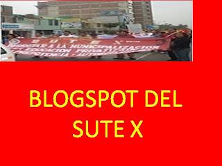 BLOGSPOT DEL SUTE X SECTOR