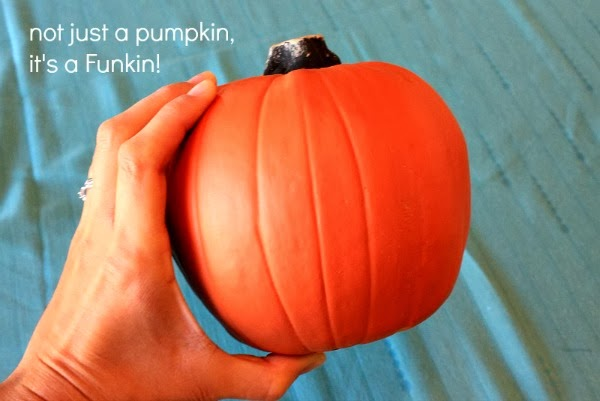 have you ever used a Funkin? oh my gosh, so easy, and looks like the real deal! #spookyspaces #myclevernest #halloween