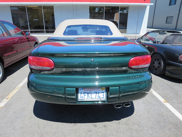 Chrysler Sebring Convertible with new auto paint from Almost Everything Auto Body