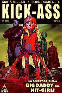 Cover of Kick-Ass series sixth issue