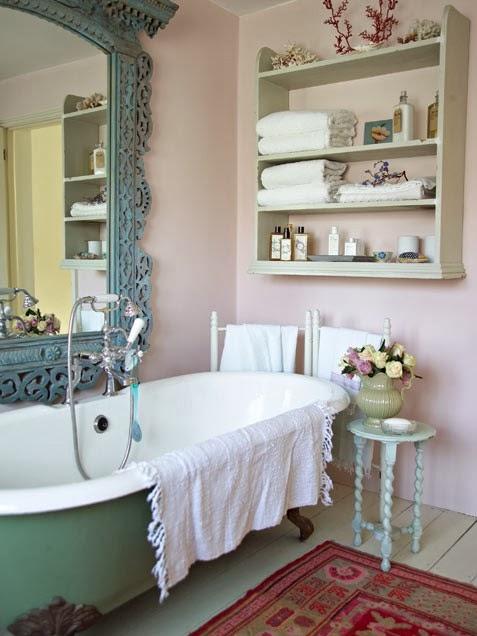 decoracao banheiro retro : decoracao banheiro retro:, um DIY bem legal pra você fazer para colocar no seu banheiro