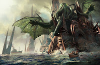 The Call of Cthulhu, H.P. Lovecraft, Ryleh