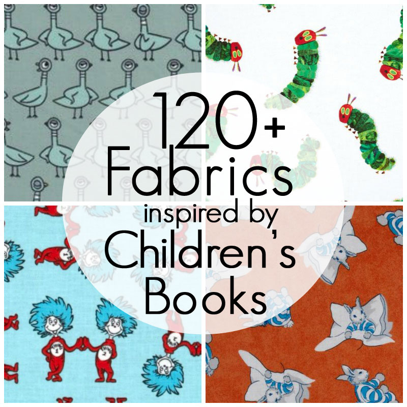Pieces by polly 120 fabrics inspired by children 39 s books for Fabrics for children s rooms