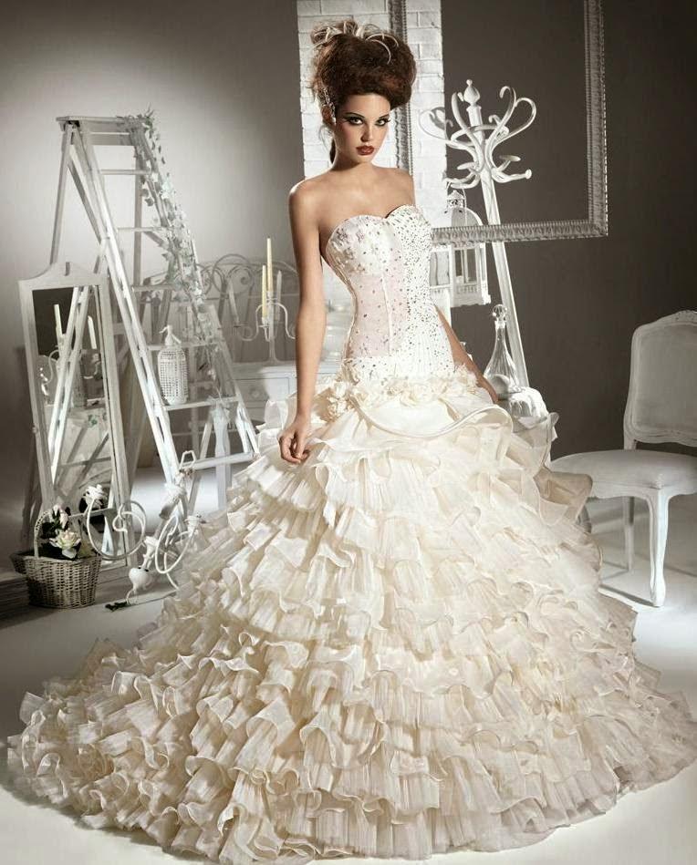 Wedding: WEDDING COLLECTIONS: Fluffy Wedding Dresses 2014