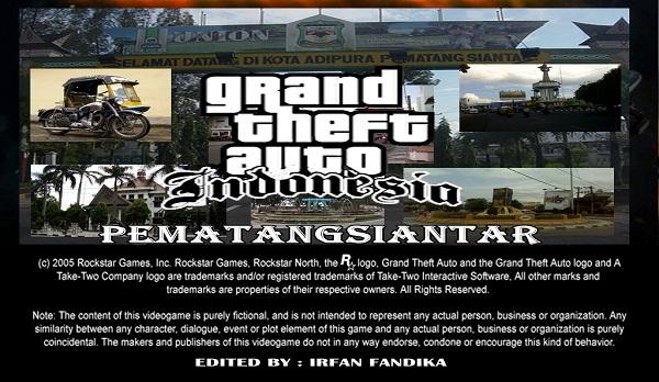 Pematangsiantar Indonesia  city photos : Loadscreen Pematangsiantar | GTAind Mod GTA Indonesia