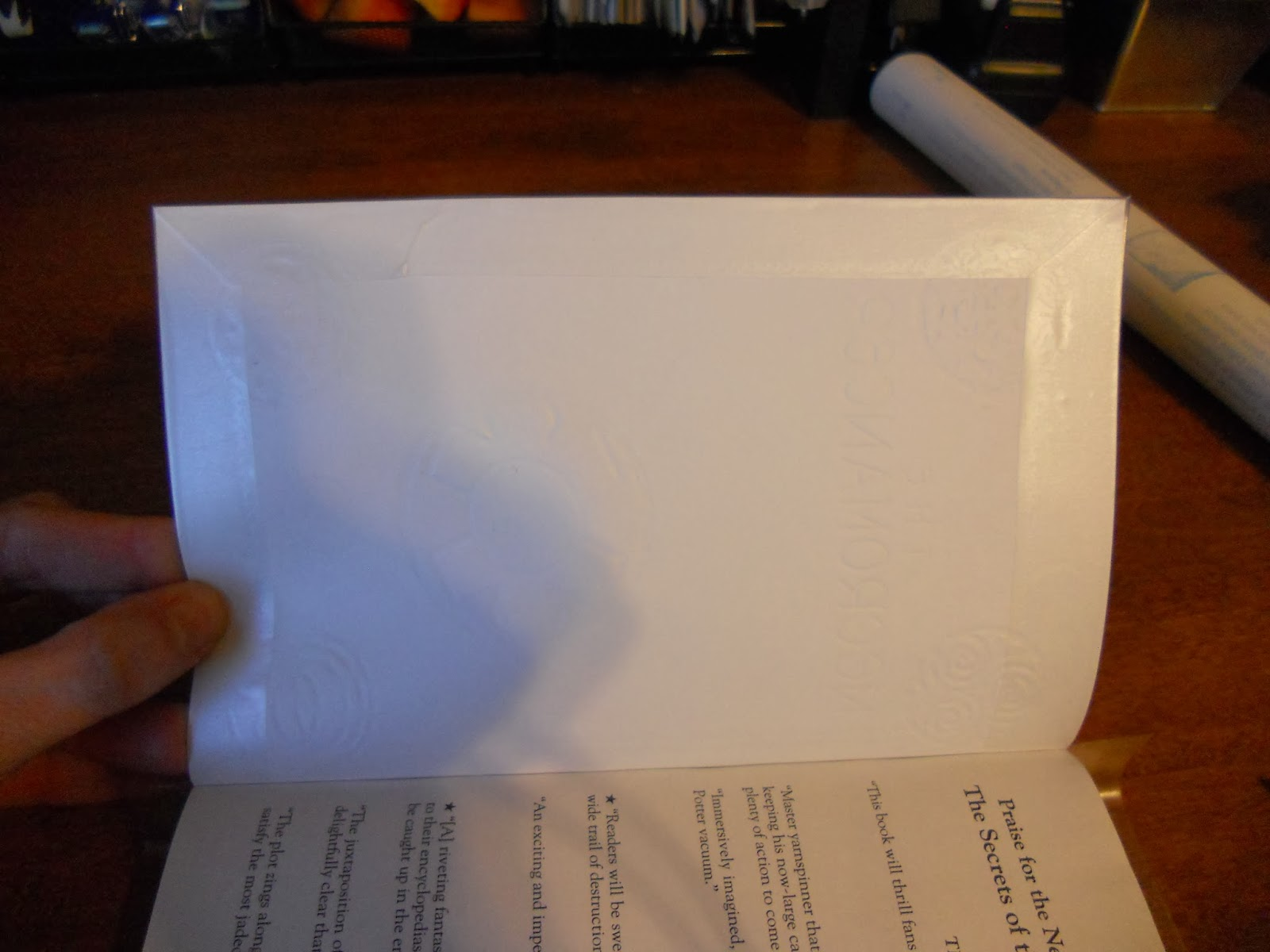 how to break the spine of a paperback book