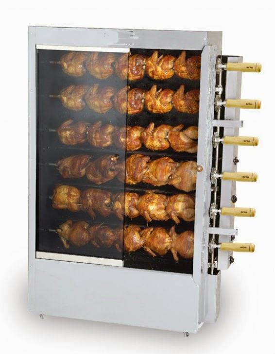 NorCal Ovenworks 30 Chicken Gas Rotisserie Roaster