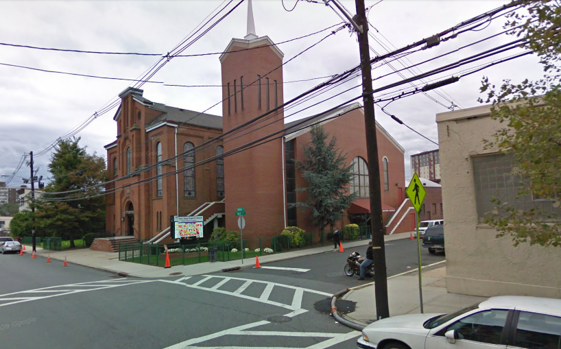 Image of new hope baptist church was captured from google street view