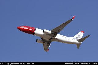Boieng 737 Next Gen LN-DYR