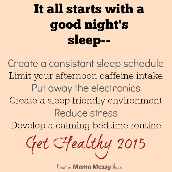 """It all starts with a good night's sleep..."" 6 Healthy Tips to Fall Asleep Easier"
